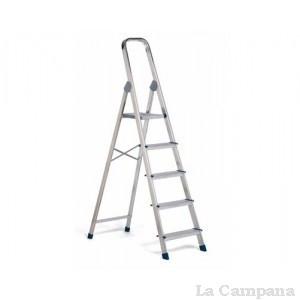 Escalera aluminio 5 pelda os dom stica la campana for Escalera aluminio 5 peldanos