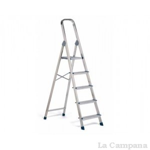 Escalera aluminio 6 pelda os dom stica rolser la campana for Escalera rolser 3 peldanos