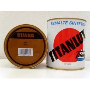 ESMALTE TITANLUX OCRE 750ml